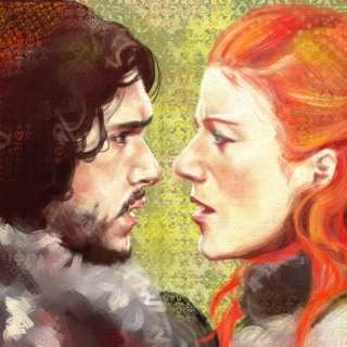 Kissed by fire, loved by Snow