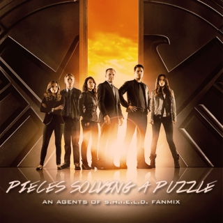 pieces solving a puzzle, an agents of shield fanmix