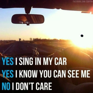 Singing in the Car :D