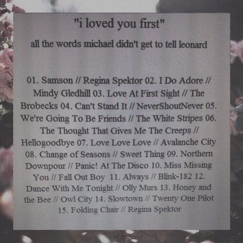 """""""i loved you first"""""""