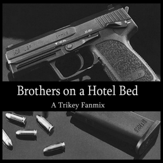 Brothers On A Hotel Bed