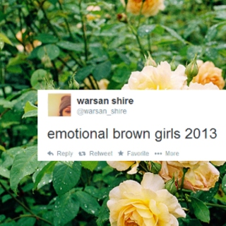 EMOTIONAL BROWN GURRLS