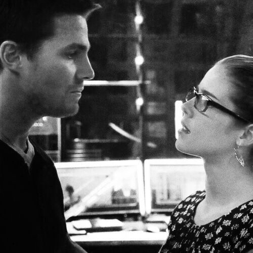You are my girl, Felicity.