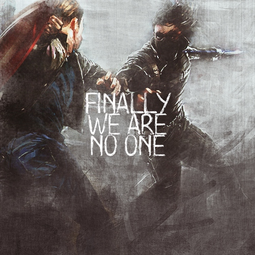 finally we are no one