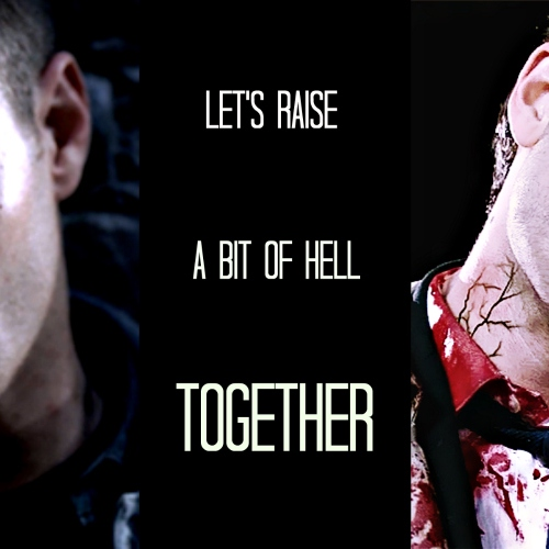 let's raise a bit of hell together