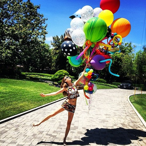 it's time to bring out the big balloons.