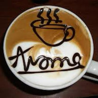 Aroma's Coffee House - Wednesday AM, Rain
