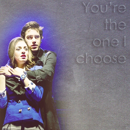 you're the one i choose