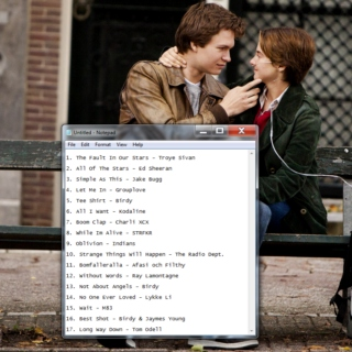 The Fault In Our Stars - Full Soundtrack