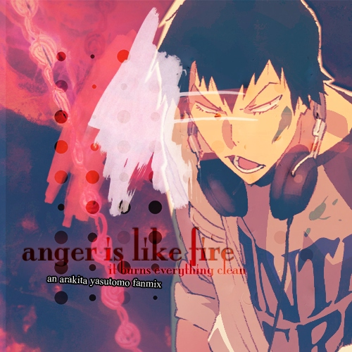'anger is like fire