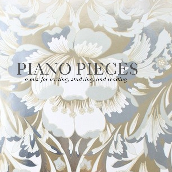 Piano Pieces for Writing, Studying, and Reading