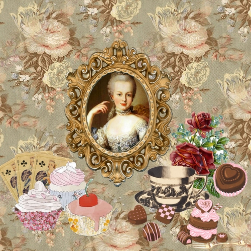 Tea party with Marie Antoinette
