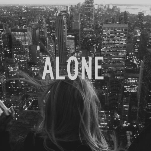 Alone is sometimes good