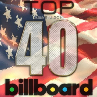 Billboard Top 40 (US) June End 2014