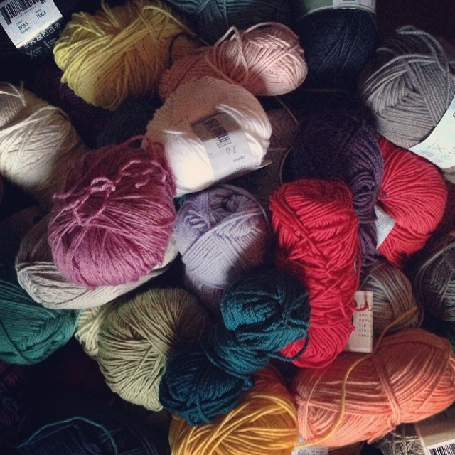 Indie mix for non-nanna knitting