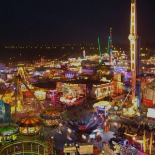 carnivals at night