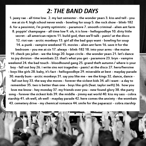 2: the band days