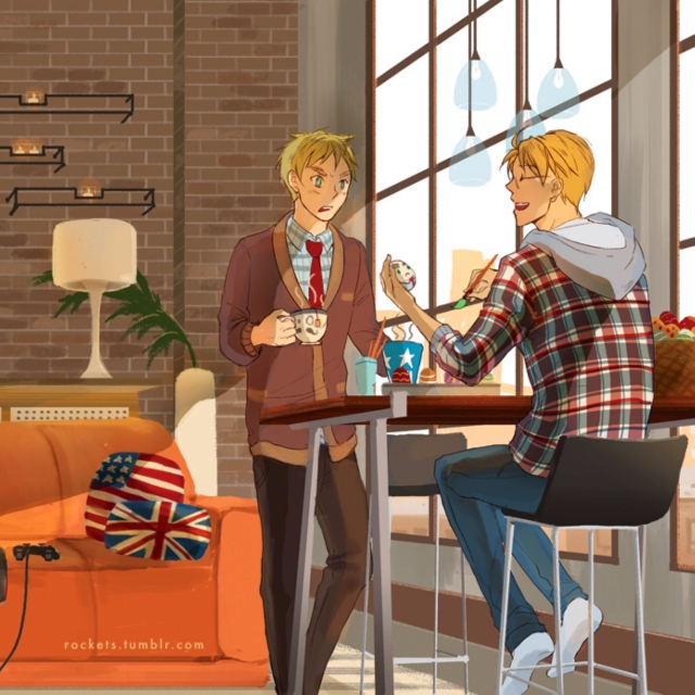 thinking about all our younger years [usuk mix]
