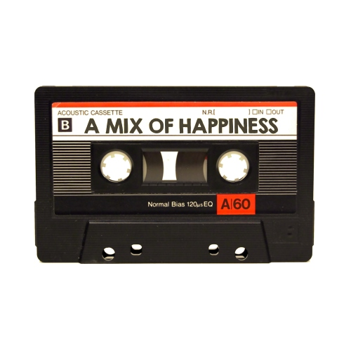 a mix of happiness