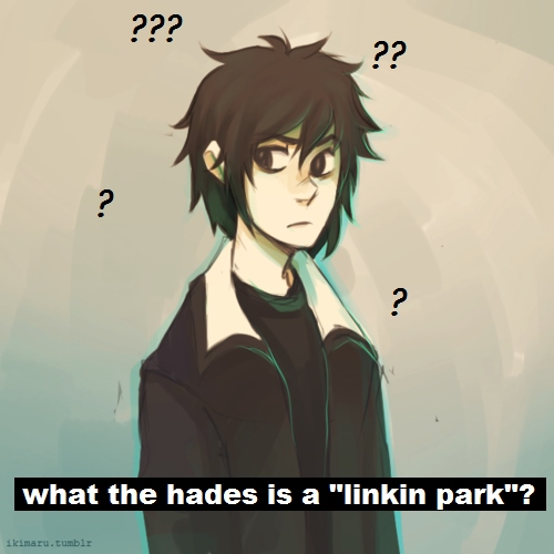 "what the hades is a ""linkin park""?"