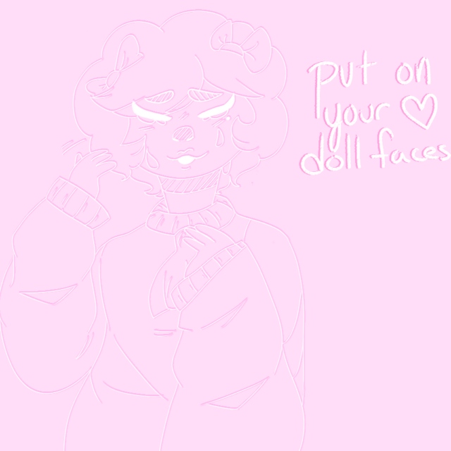 ✦ put on your doll faces! ✦