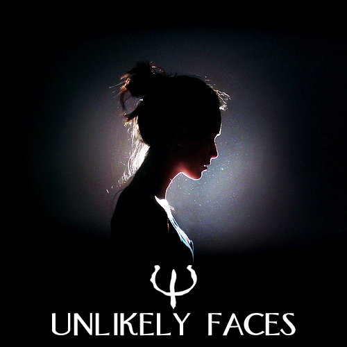 unlikely faces.