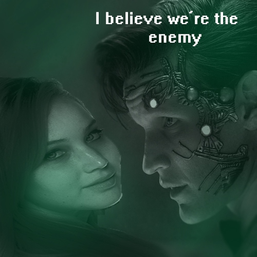 I believe we're the enemy