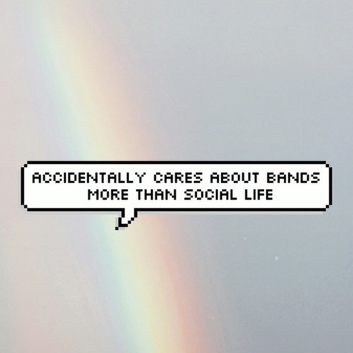 do bands not drugs