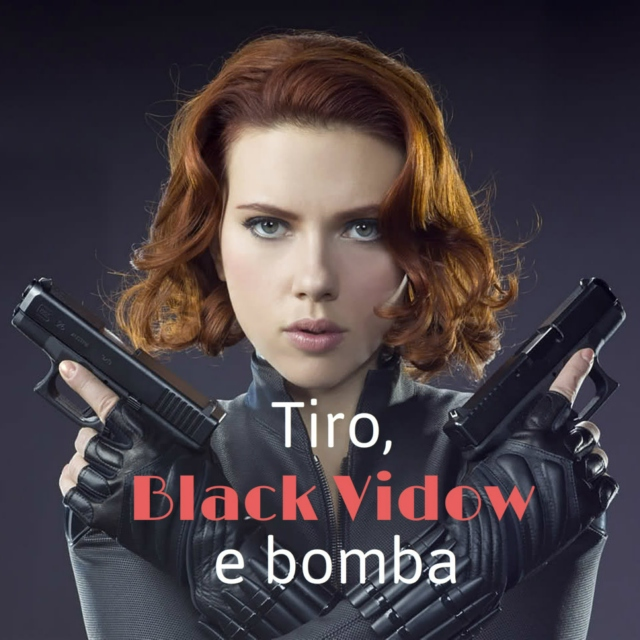 Tiro, Black Vidow e Bomba