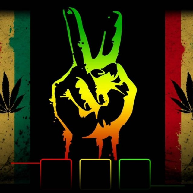 peace, love and weed!