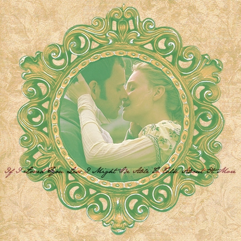 If I Loved You Less I Might Be Able To Talk About It More [an Emma/Knightley fanmix]