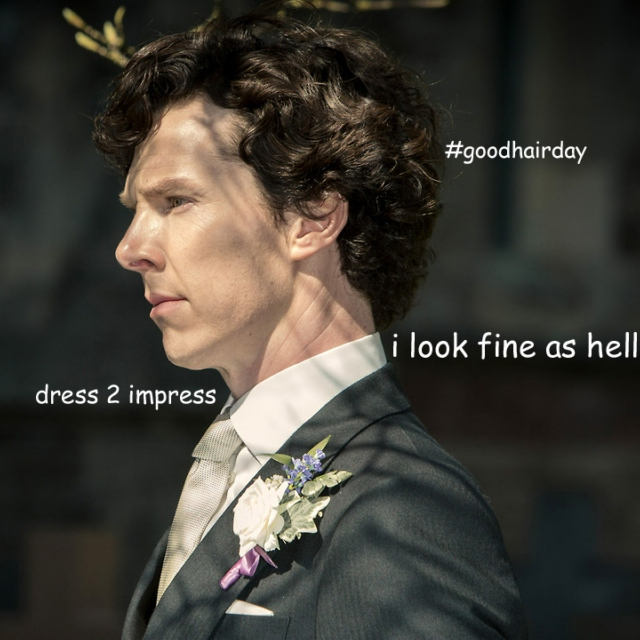 Songs Sherlock listens to when he is getting ready in the morning
