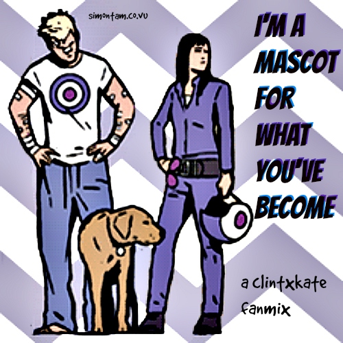 i'm a mascot for what you've become