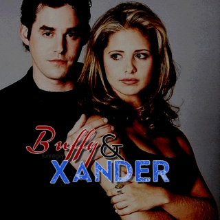 buffy&xander { not a bad thing } ;;