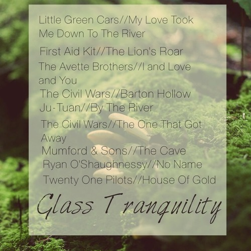 Glass Tranquility