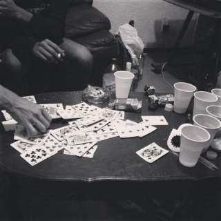 weesha poker and beer pong