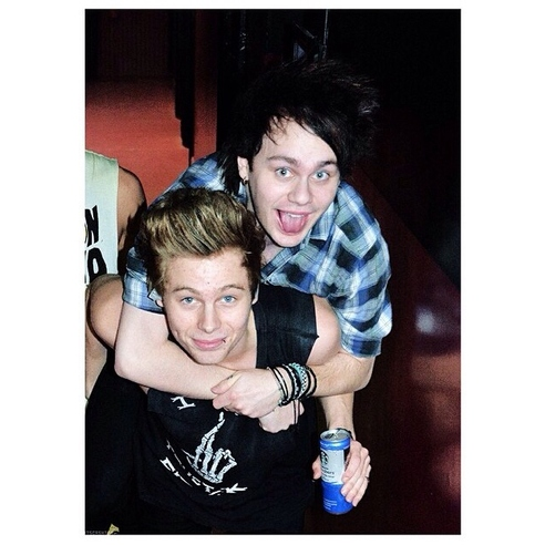 Luke and Michael ♡ I'll be your man ♡