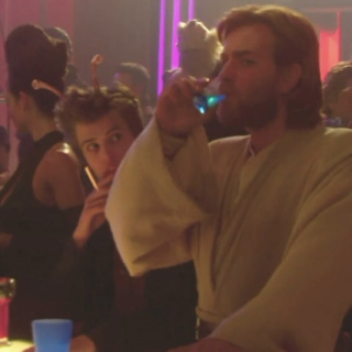 a jedi walks into a club