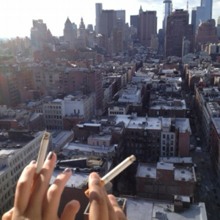 cigarettes and rooftops