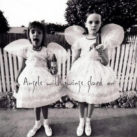 Angels with wings glued on