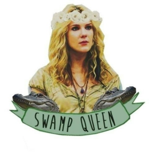 misty day; swamp queen