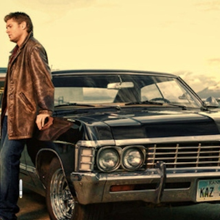 dean winchester driving, you're in shotgun