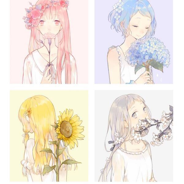❀ fanmix yourself: flower edition ❀
