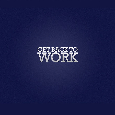 Get Back to Work - Vol 1