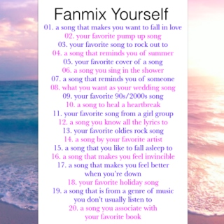 Fanmix Yourself!