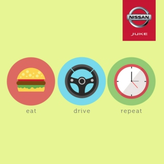 Eat, Drive, Repeat