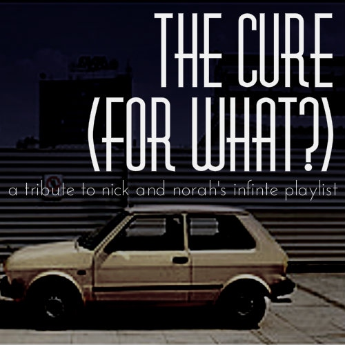 """The cure for what?"""