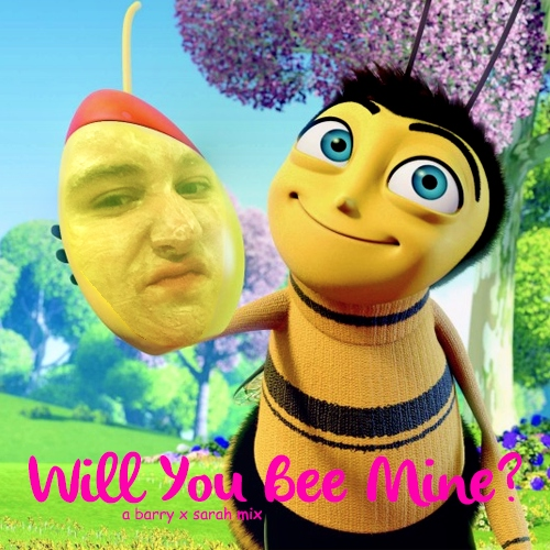 will you bee mine? a barry x sarah mix