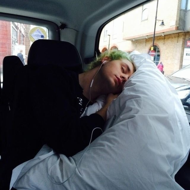 Cuddles with Michael