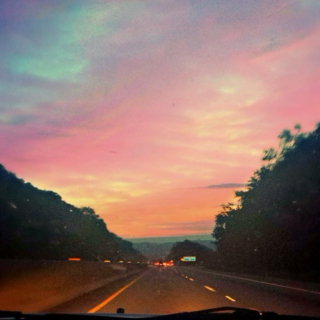 early morning/evening drives [roadtrip!part 2]